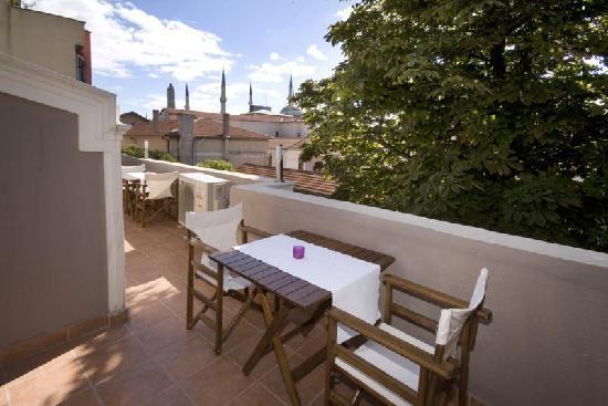 Hotel Sultan House: Terrace