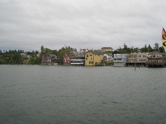 Captain Whidbey Inn: looking off of coupville pier