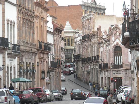 Mision Argento Zacatecas: コロニアル都市、サカテカスの町並み