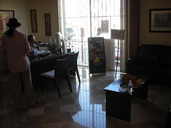 Rosarito Inn - Inside the main office