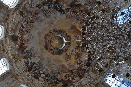 Benediktinerabtei Ettal: Inside of church dome