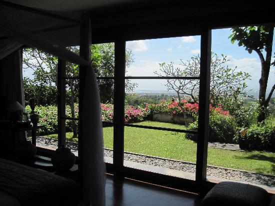 The Longhouse, Jimbaran-Bali : View from Lombok room.