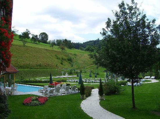 Hotel Ludinmuhle: Schwimmlandschaft und Sitzbereich
