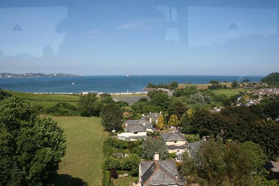 Cherry Tree Hotel: View from the Steam Train near Paignton