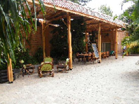 Le Combava : La terrasse couverte