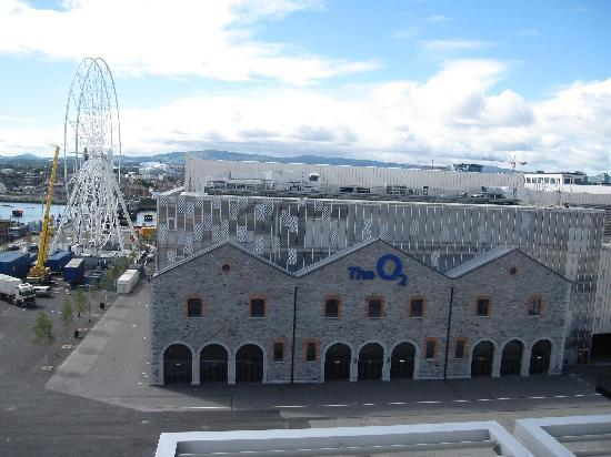 The Gibson Hotel View From Executive Terrace Room Over O2 Arena And Dublin