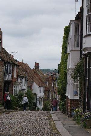 Rye, UK: Top end of town