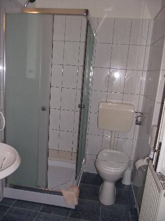 Casa Baciu : Salle de bains très propre et spacieuse