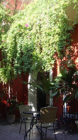 Hotel Julamis: Cortile interno