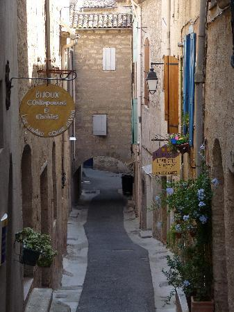 Pezenas, France : the street view