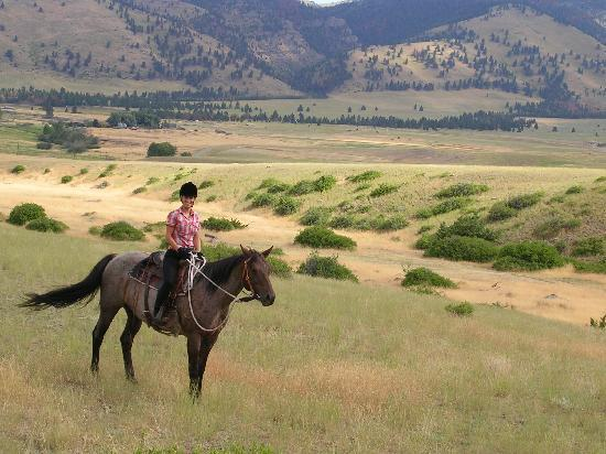 Rocking Z Guest Ranch: Beautiful Montana scenery