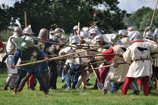 Sutton Cheney, UK: Battle re-enactment