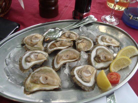 Restaurant Orca: frische Austern
