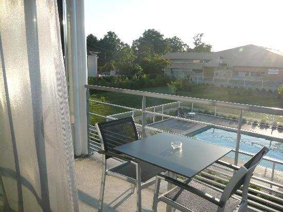 Hotel Eden Park : La terrasse de la chambre
