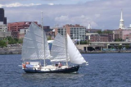 American Sailing Tours: Sailing on the Summer Wind off Penns Landing