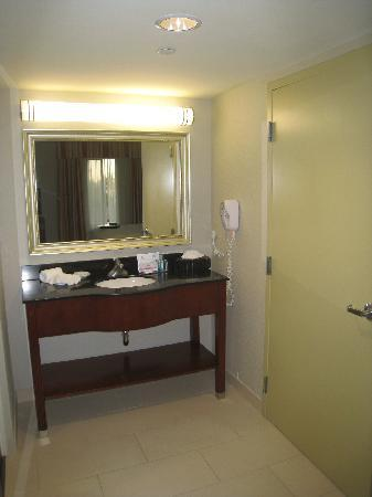 Hampton Inn & Suites Clovis - Airport North: Bathroom