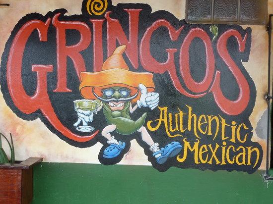 Gringo's: wall logo