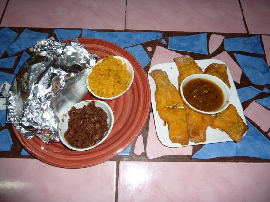 Gringo's: food