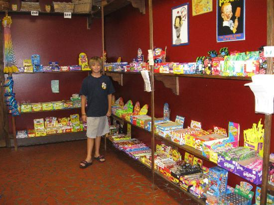Candyland Cottage & Ice Cream Shoppe: My 11 year old Cole