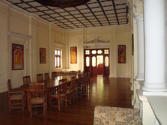 The Mansion: interior dining hall