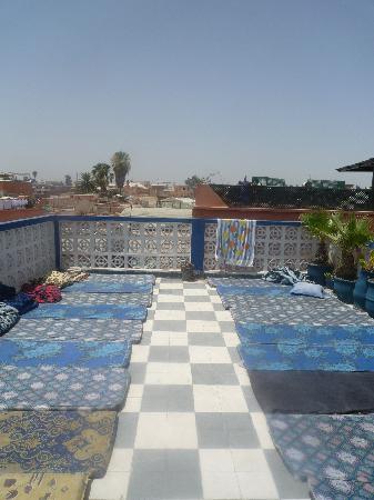 Riad Hotel Essaouira : Rooftop sleeping