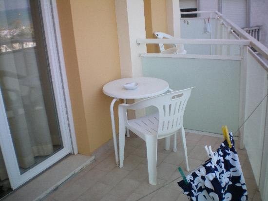 Hotel Senigallia: Balcone