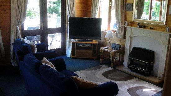 Watermouth Lodges: The lounge