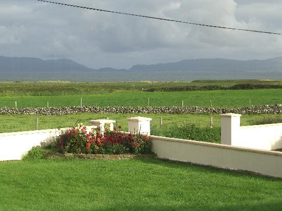 Bertra House B&B: View from breakfast room...