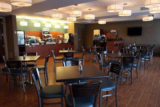 Holiday Inn Express & Suites Saint-Hyacinthe: Breakfast Room