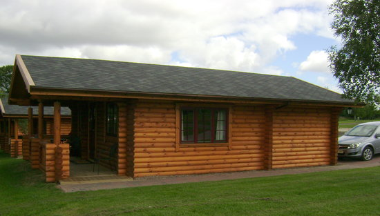 Morpeth, UK: Log Cabin Accomodation