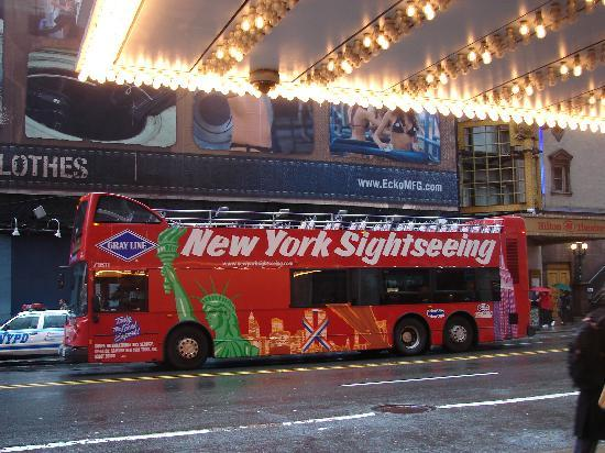Hampton Inn Linden: New York Sighseeing Bus