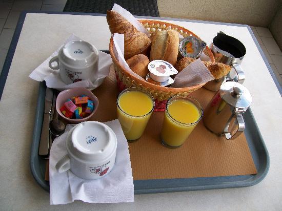 Hotel Venezia : petit déjeuner