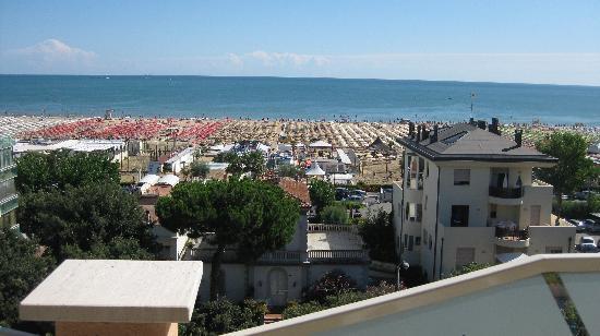 Hotel Radar: Aussicht vom Balkon