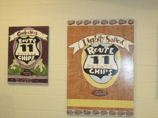 Route 11 Potato Chip Factory: Varieties