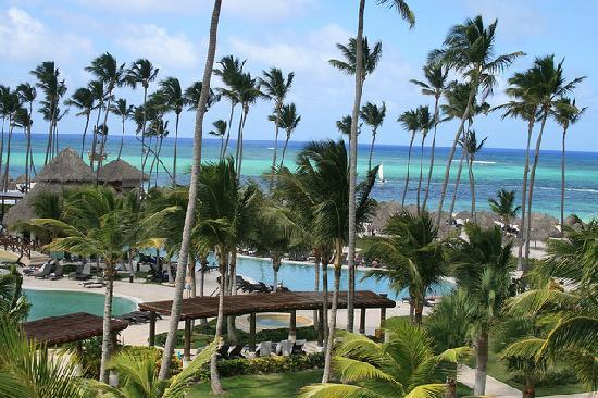 Now Larimar Punta Cana: The view from the balcony of our room, #4257