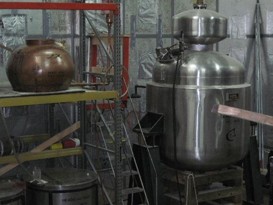 Copper Fox Distillery: Mash Still