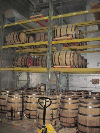 Copper Fox Distillery: Barrel Room
