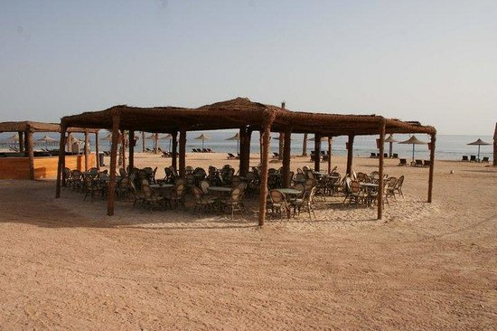 Paradise Beach Resort: ristorante in spiaggia
