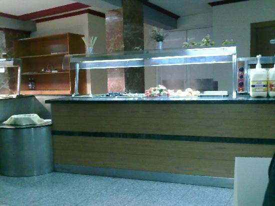 Hotel Rambla: Fruta pocha