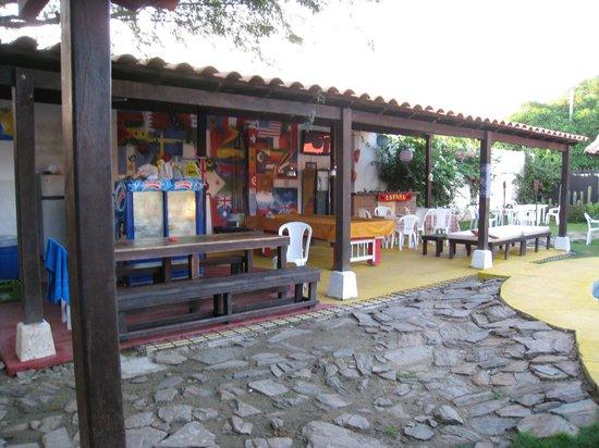 The Dreamer Hostel: Common area