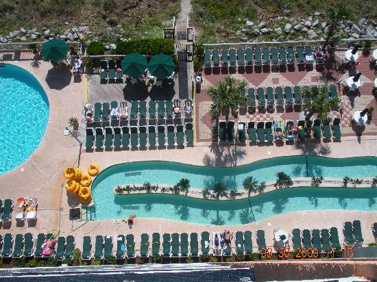 View from 11th floor picture of caribbean resort and for Pool show in long beach