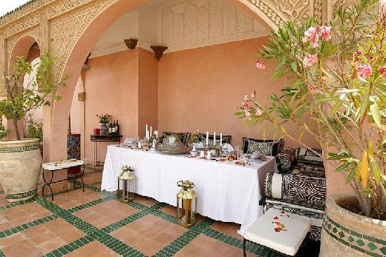 kiosque terrasse jardin photo de riad spa esprit du maroc marrakech tripadvisor. Black Bedroom Furniture Sets. Home Design Ideas