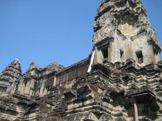 Angkor Wat: one of the temples