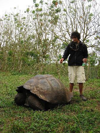 Galapagos Alternative: Javier showing us around his family farm