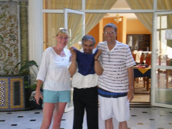 Hotel Residence Rihab : head waiter achmed brilliant guy