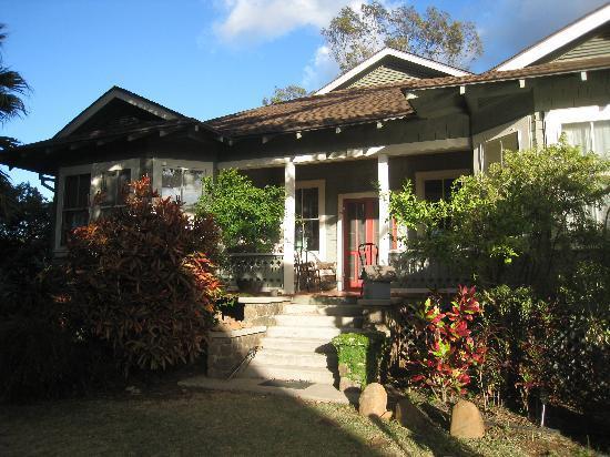 Hale Ho'okipa Inn Makawao: jardín posterior
