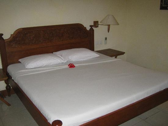 Ubud Bungalow: Bed