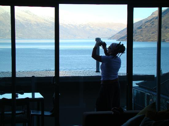 LakeRidge Queenstown: view from lounge