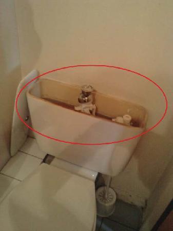 Hotel 25 : Cuvette WC