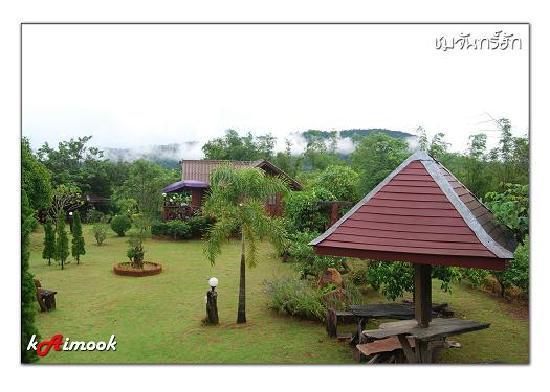 Life Up Resort & Spa: สวนสวยๆ น่าจะจัดเป็นสวนอาหารนะครับ ร้านอาหารในสวน อ่ะคับ